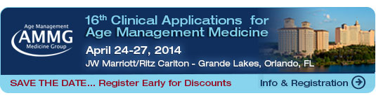 AMMG Clinical Applications For Age Management Medicine Conference